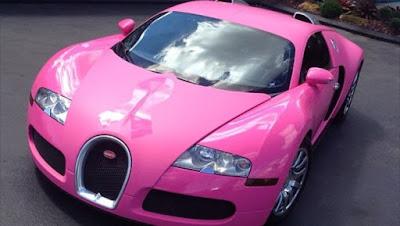 Bugatti Veyron pink image