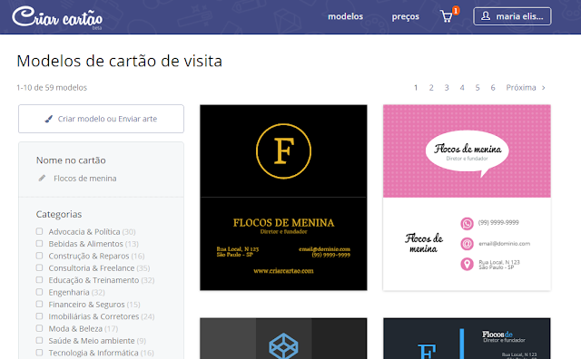 http://www.flocosdemenina.com.br/2016/04/cartao-de-visita.html