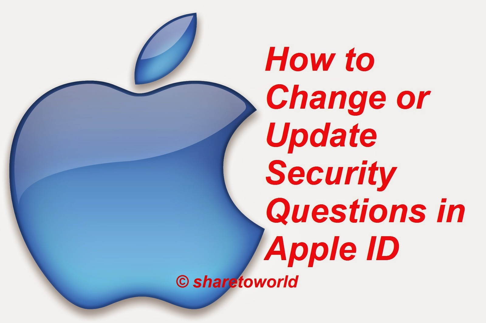 How to Change or Update Security Questions in Apple ID