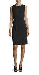 what to wear to work with a sheath dress