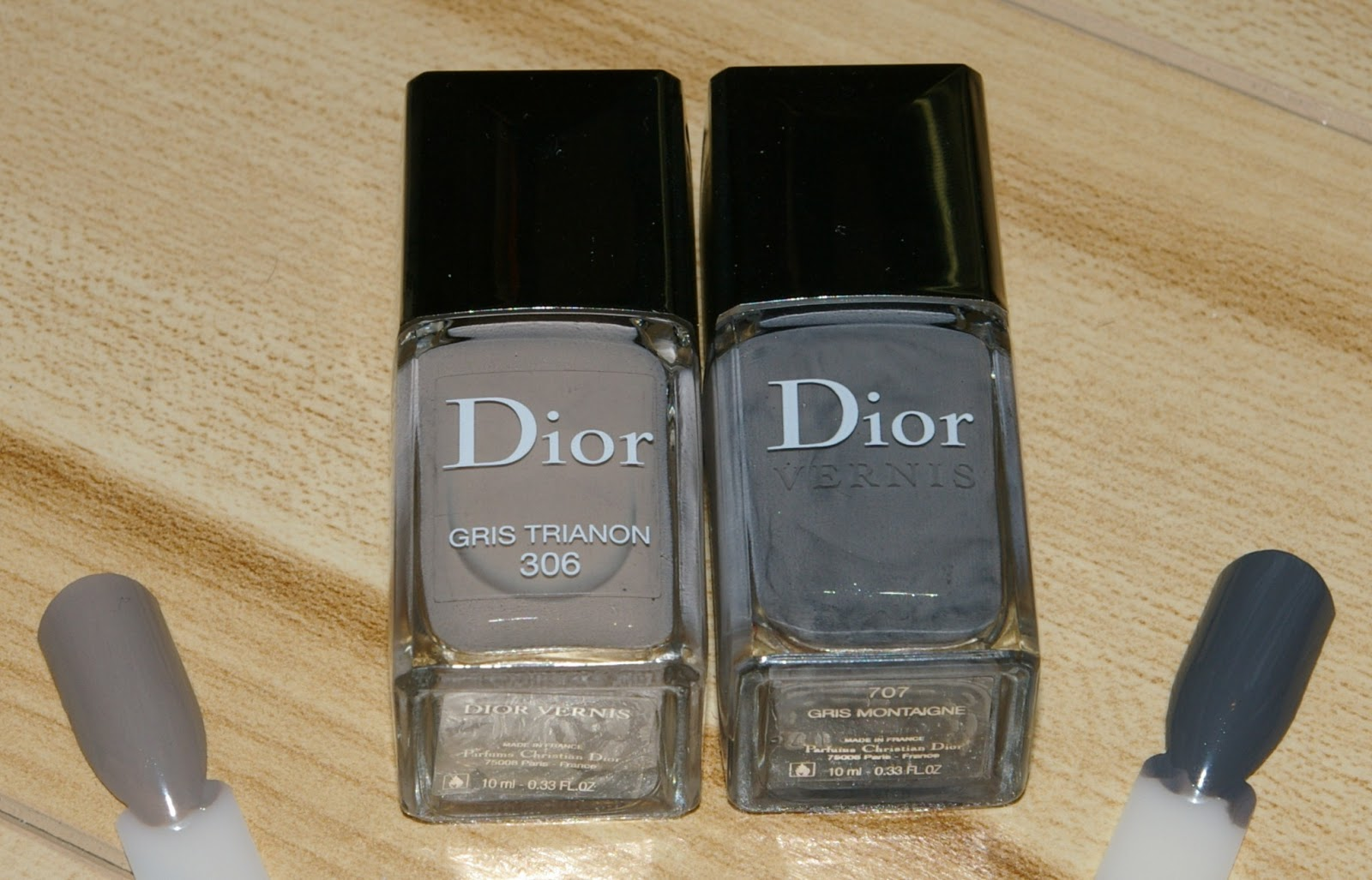 Gris Montaigne Christian Dior the polish jinx: dior 306 gris trianon swatches and