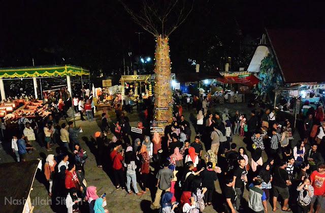 Pengunjung Pasar Kangen Jogja belum terlalu ramai