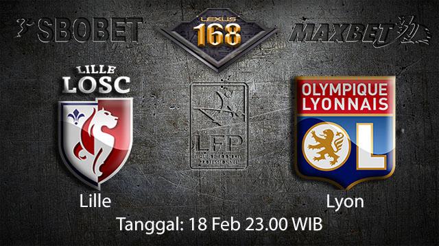 PREDIKSIBOLA - PREDIKSI TARUHAN BOLA LILLE VS LYON 18 FEBRUARI 2018 ( FRENCH LIGUE 1 )