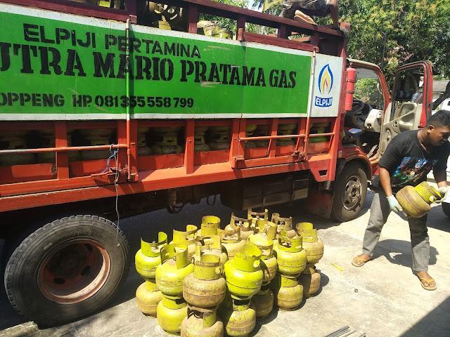 Antisipasi Harga Gas Elpiji 3 Kg Melonjak di Bone, Pj Bupati Bone Koordinasi Polres Lakukan Sidak