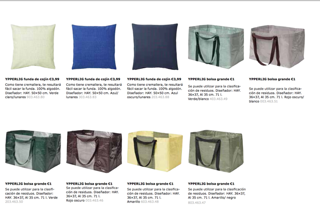 YPPERLIG la nueva colección de IKEA en colaboración con HAY