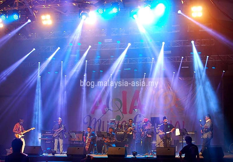 Asia Music Festival in Miri Sarawak