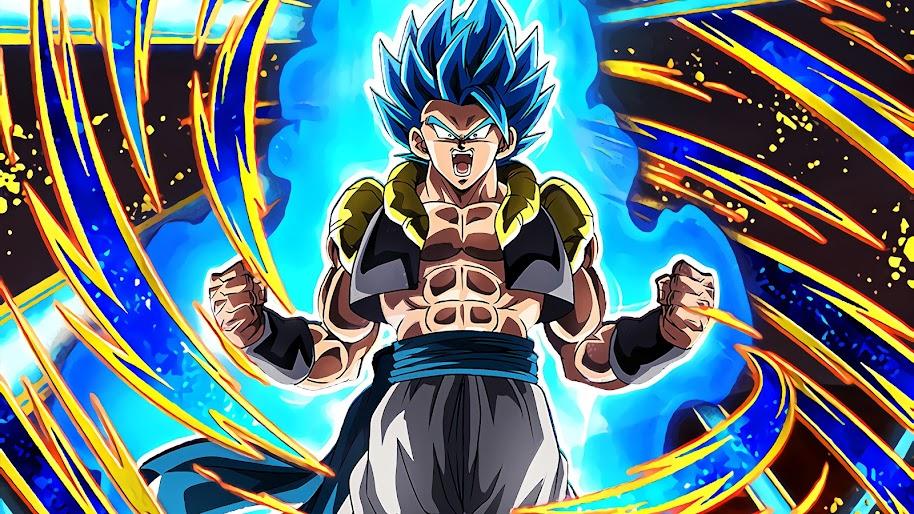 Gogeta Super Saiyan Blue Dragon Ball Super Broly 4k