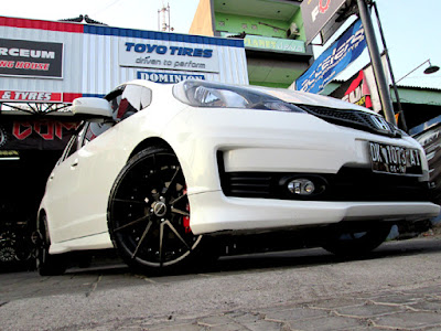 modifikasi velg honda jazz rs