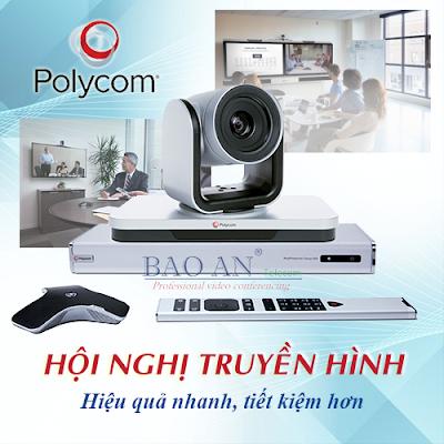 Hệ thống giải pháp hội nghị truyền hình Polycom
