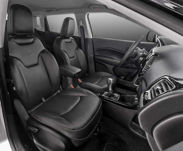 Jeep Compass Longitude Flex Automático 2017 - interior
