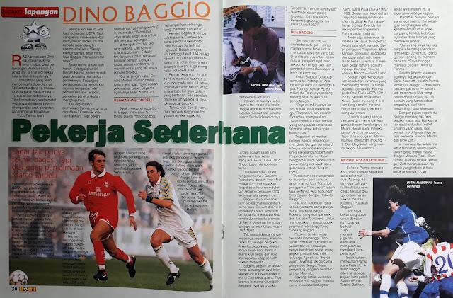 BINTANG LAPANGAN DINO BAGGIO PEKERJA SEDERHANA