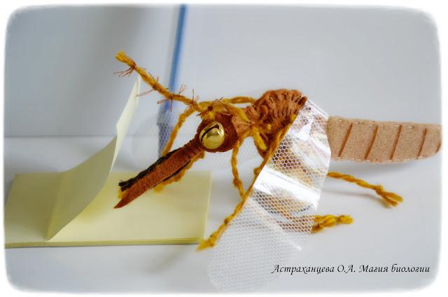 пальчиковый театр, комар
