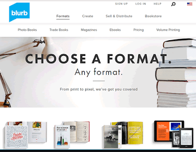 Blurb is one of the best self-publishing platforms for creative ideas