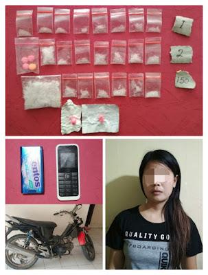 Edarkan Narkoba, Wanita Ini Ditahan Polisi