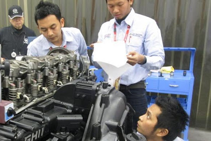 Lowongan Kerja Kepala Admin, Mekanik & Asst Supervisor Bengkel
