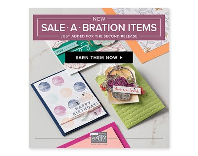 Additional Sale-a-Bration items