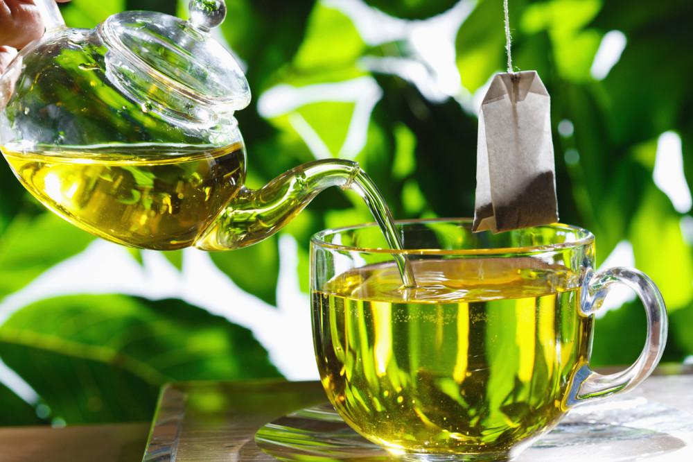Chá verde,reeducação alimentar