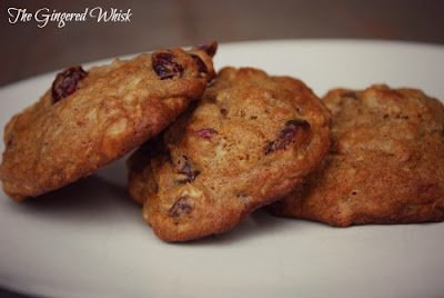 Two great recipes for sourdough cookies! Peanut Butter & cranberry orange!