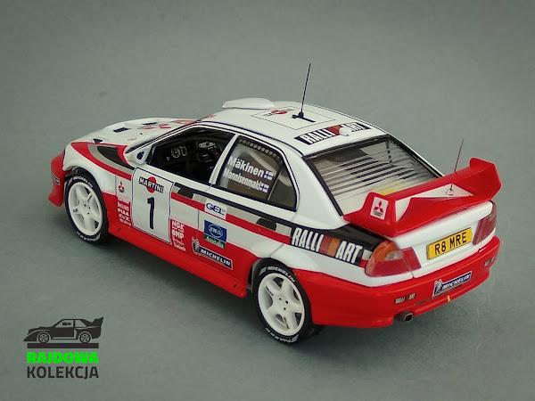 IXO KBI063 - Mitsubishi Lancer EVO V, Rallye Sanremo 1998