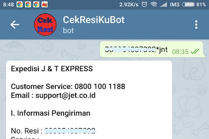 Membuat @CekResiKuBot - Cek Resi Menggunakan Bot Telegram