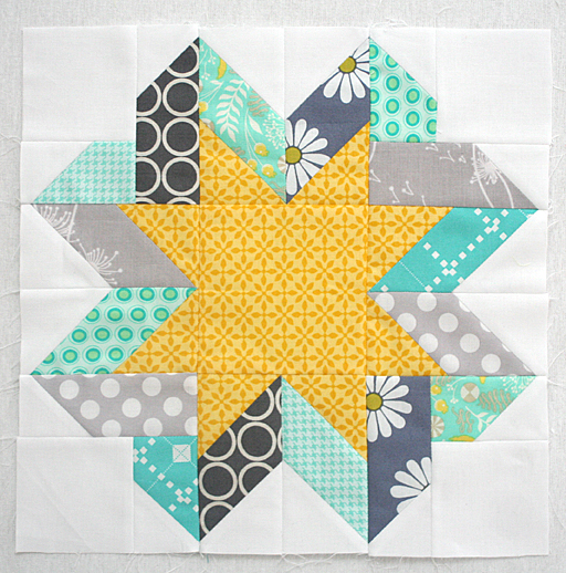 Free Block Tutorial Ribbon Star Block Freshly Pieced