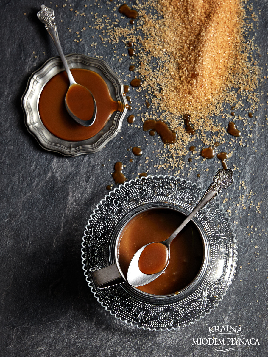 domowy sos karmelowy, sos toffi, sos krówkowy, sos karmelowy z wanilią, sos toffi z wanilią, sos krówkowy z wanilią, sos karmelowo waniliowy, kraina miodem płynąca