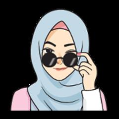 Gorgeous Hijab Girl 2 - Animated
