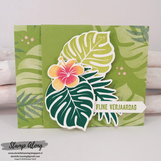 Stampin' Up! Gifcardholder Tropical Escape