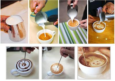 4 Teknik Latte Art