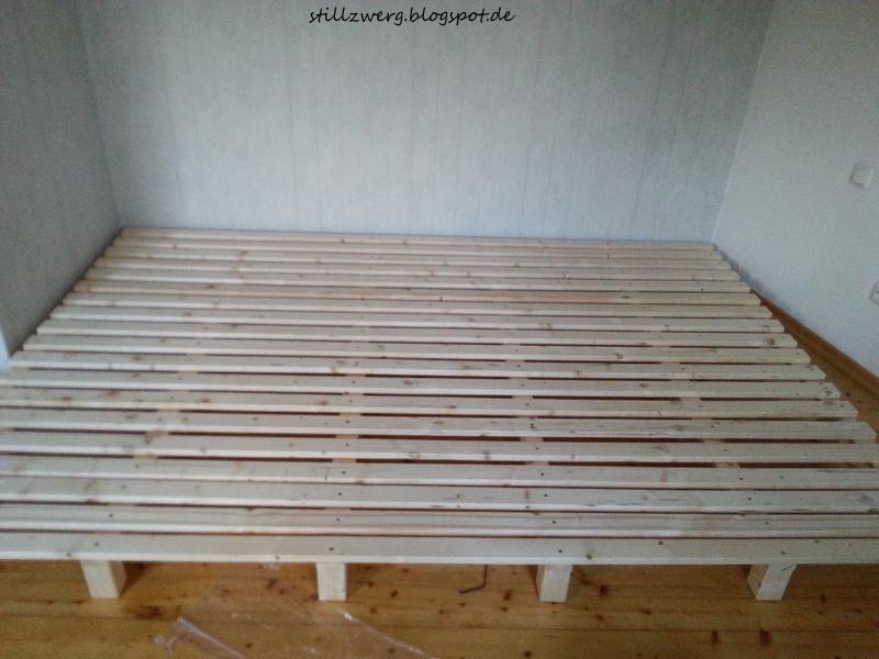 der stillzwerg ein familienbett f r f nf diy mit bauanleitung. Black Bedroom Furniture Sets. Home Design Ideas