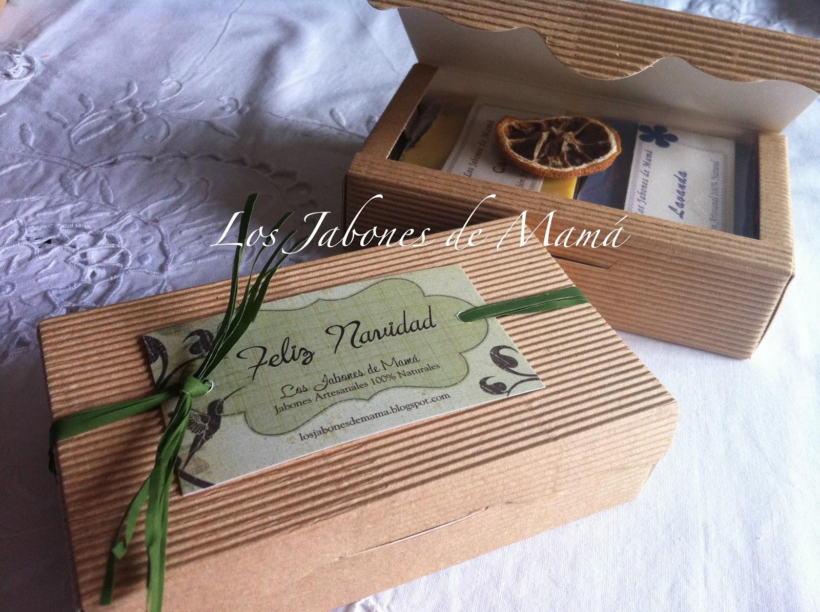 Los jabones de mam regalos de navidad caja cart n ondulado - Regalo navidad mama ...