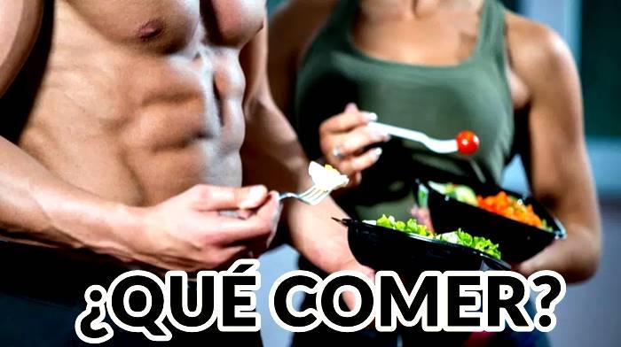 Ejemplos de alimentos para antes y después de hacer ejercicio