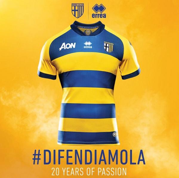 f7d25383a49c3 replicas camisetas futbol 2019  nuevas camisetas Parma Calcio ...