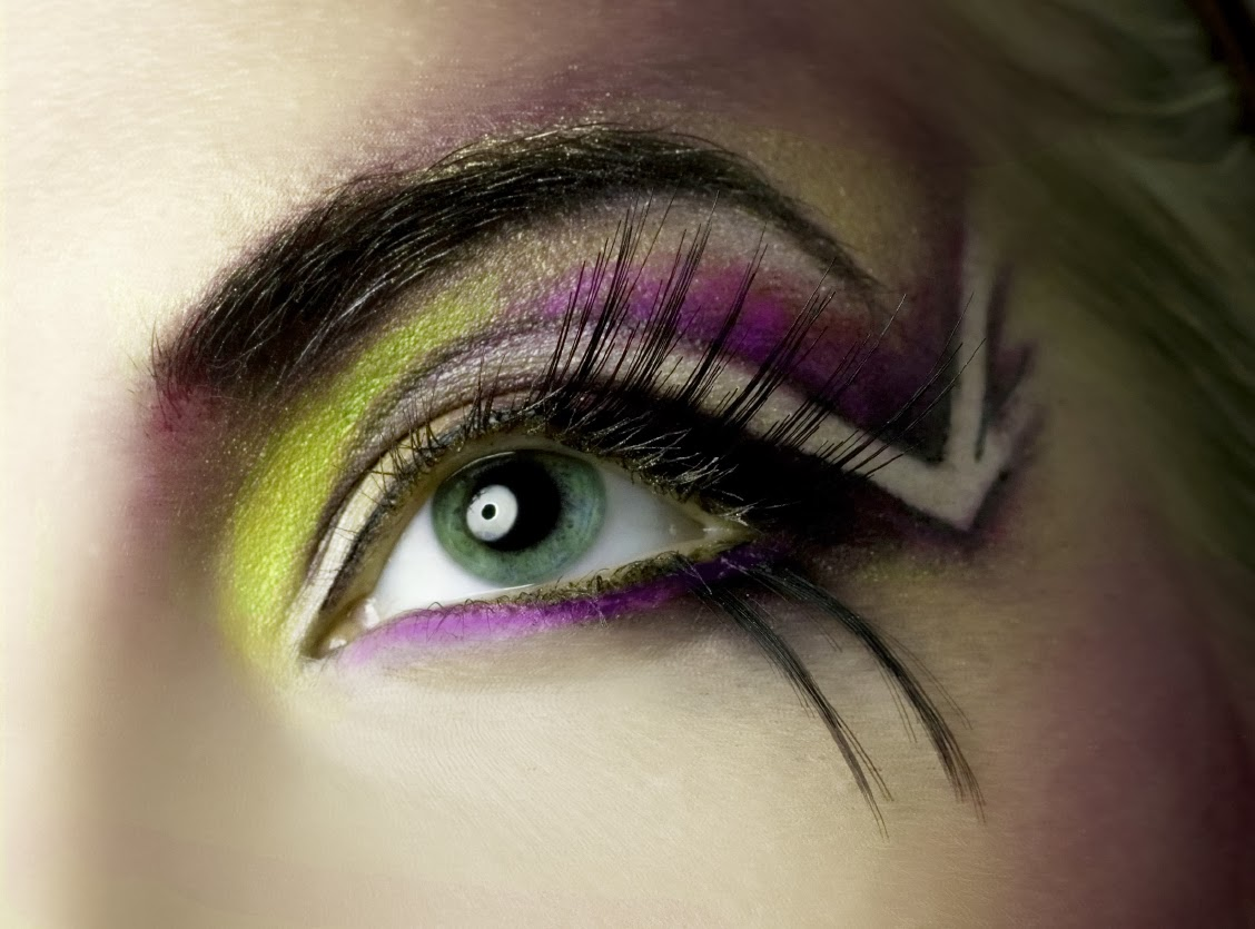 10 Most Beautiful Girls Eyes Makeup Designs Photos 2014 Latest World Fashion