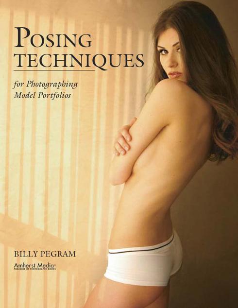 Portada libro: Tecnicas de posado para fotografia