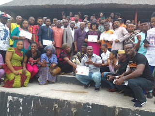 'No victor, no vanquish', Nneoma Ukpabi pleads, as Emeka Rollas swears in Imo AGN exco 5