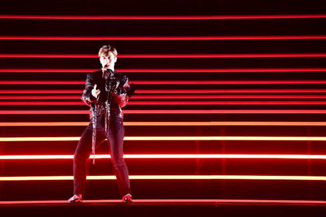 Benjamin Ingrosso gana el Melodifestivalen 2018