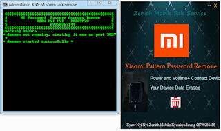 Xiaomi Pattern, Password Remove Tool 100% Tested