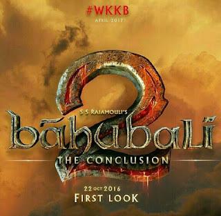 Bahubali 2 upcoming movie