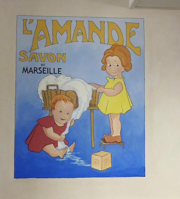 savon de Marseille, ancienne affcihe