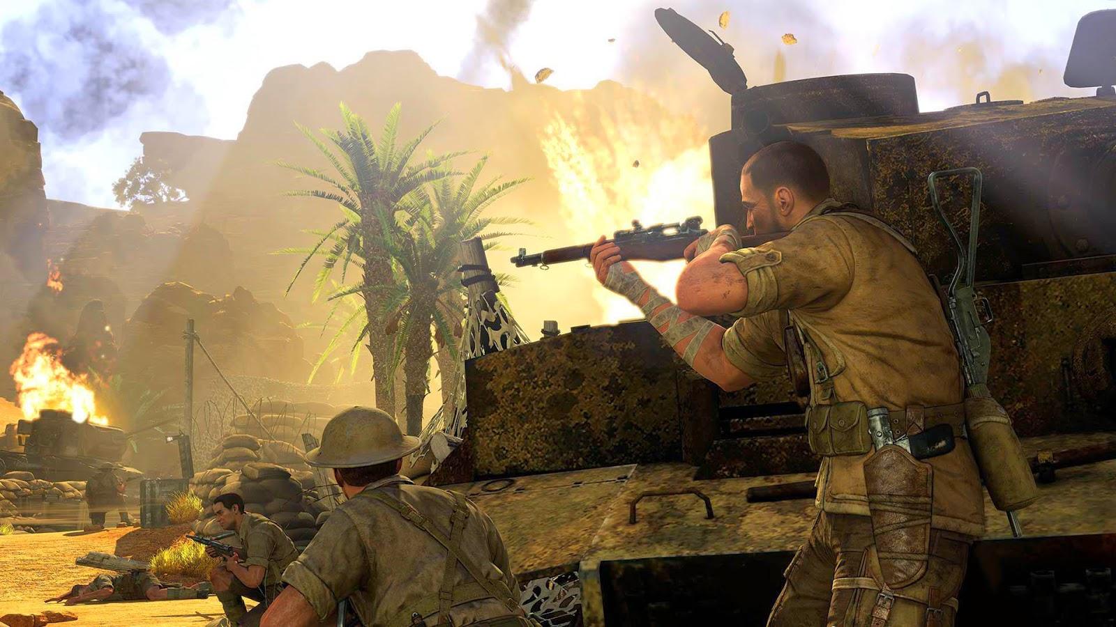 Sniper Elite 3 Wallpaper: HD Sniper Elite III Afrika 2014 Wallpapers