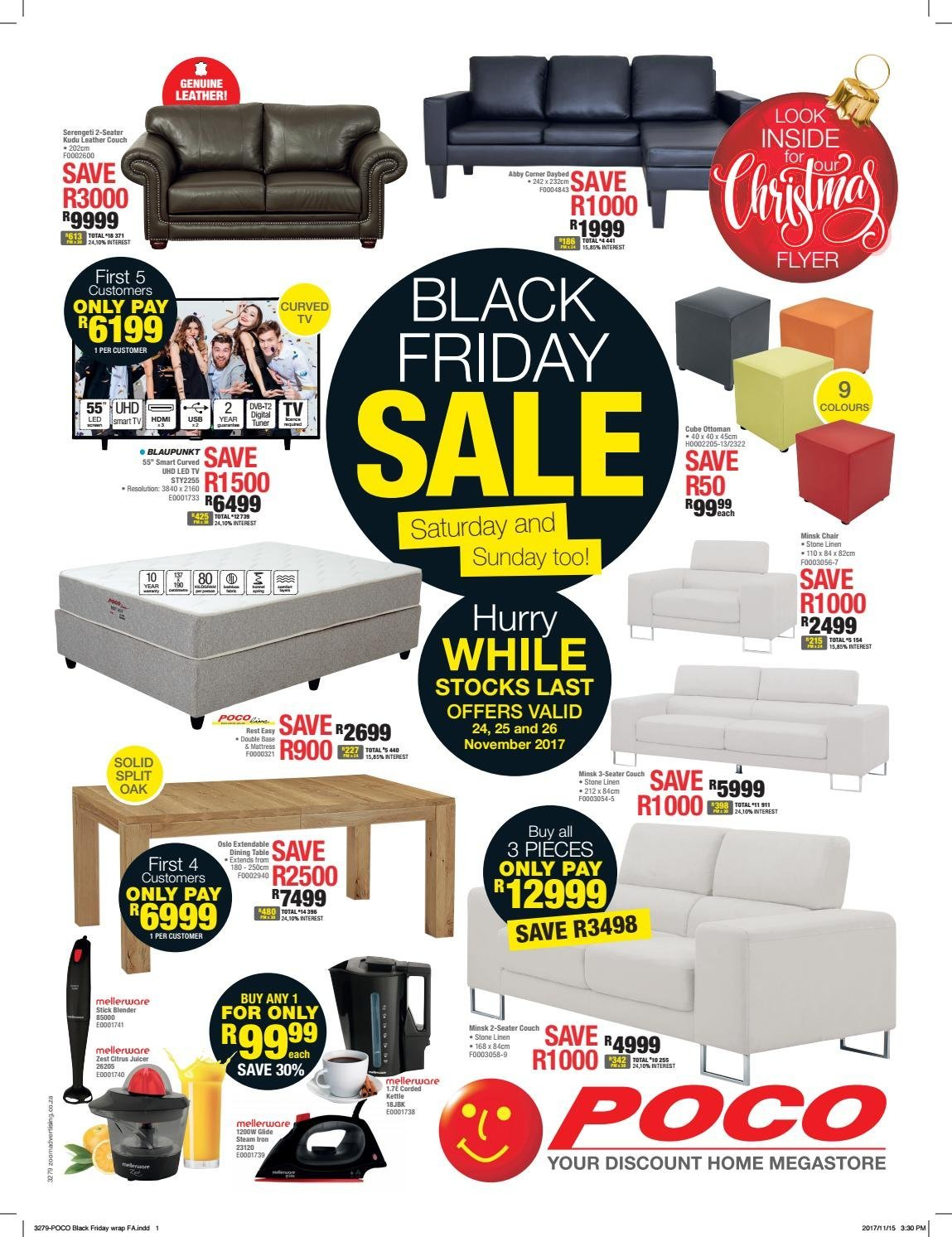 Poco Sale Blackfriday Poco Furniture 2018 Black Friday Deals