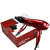 Wazor Hair Dryer 1875W Ceramic Blow Dryer Negative Ionic Dryer Lightweight With 2 Speed and 3 Heat Settings Cool Shot Button Red