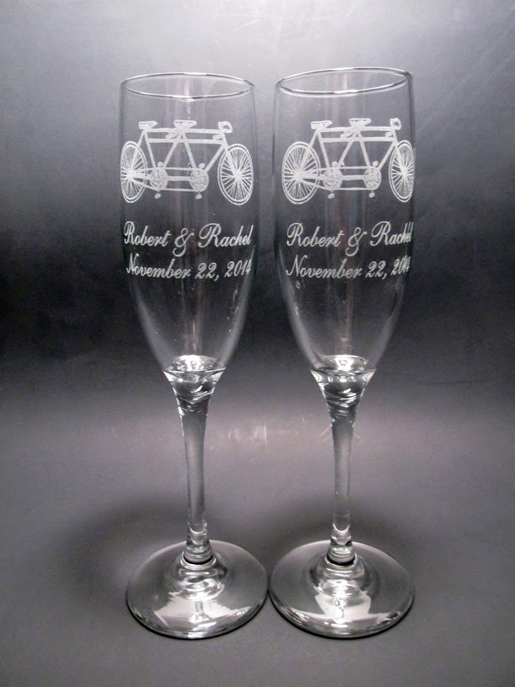 memories for life new champagne flute designs. Black Bedroom Furniture Sets. Home Design Ideas