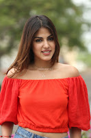 Rhea Chakraborty in Red Crop Top and Denim Shorts Spicy Pics ~  Exclusive 219.JPG