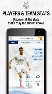 التطبيق الرسمى لريال مدريد