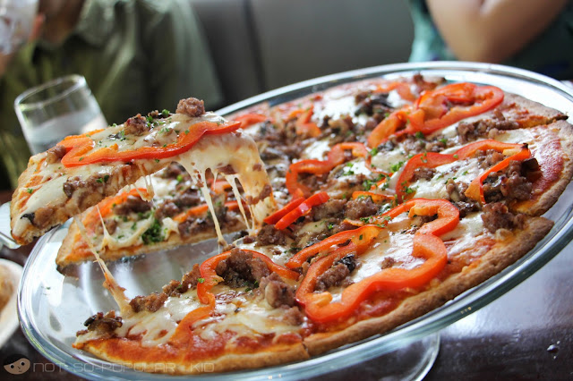 Meaty and Yummy Italian Sausage Pizza