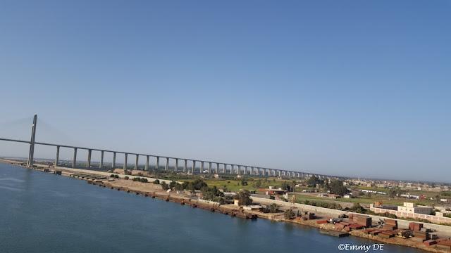 Passing Suez Canal ~ Egypt by ©Emmy DE