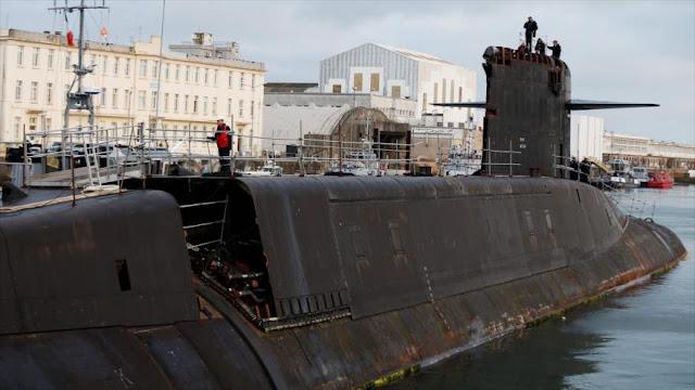 Comienza deconstrucción de 5 submarinos nucleares en Francia