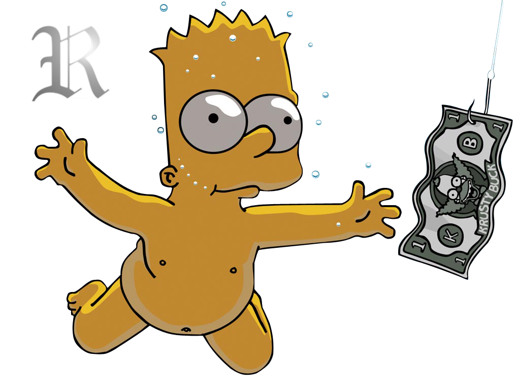 Render Bart Simpsons